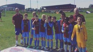 U10 Hurricanes win the MHRML Purple Division Cup