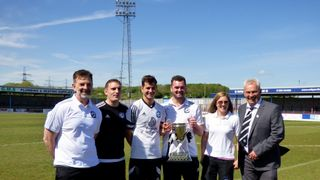 DPL Cup Final Swans 2 Gillingham Town Reserves 0