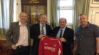 Sportspersons Dinner 1 May 2015 with Howard Kendall and David Fairclough