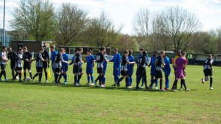 1st Team v Hanwell Town - 11th April 2015
