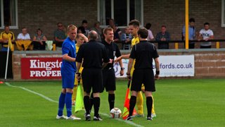 1st Team v Tiverton Town - 22nd August 2015