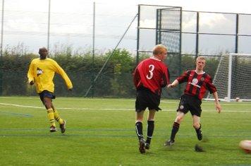 Fleming splits the pair