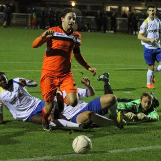 Emphatic Enfield give Margate the Blues