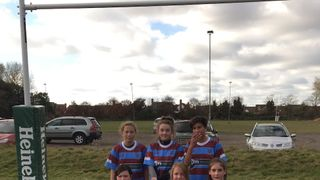 Hove U13 Girls in first tournament appearance!