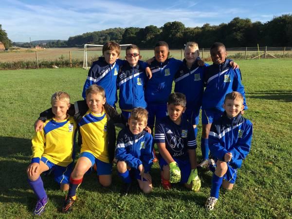 Blue Team Squad V Downley Dynamos Colts 11th September