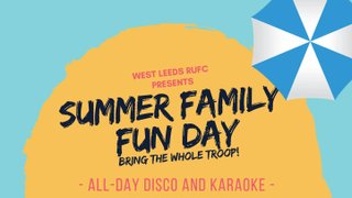Family Fun Day - This Saturday 24th 2pm