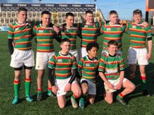 Nine U15s represent the County