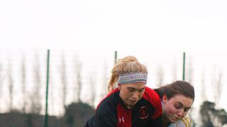 Ladies' Division 2: YMCA vs. UCD (Photo Credit: Matthew McConnell)