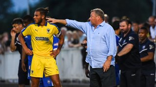 Young Blues edged out by experienced AFC Wimbledon side