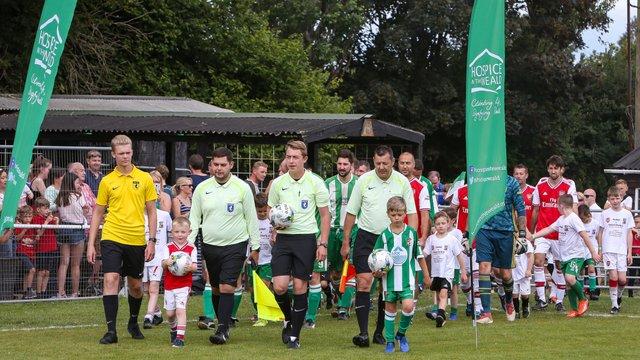 Charities Win: Rusthall Legends vs Arsenal Charity XI