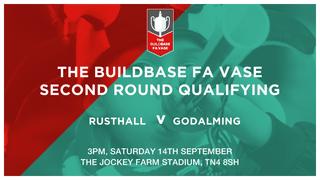 FA Vase: Saturday 14th September!