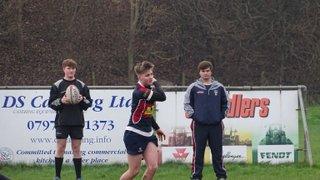 Spalding U17's v Sleaford Lincs Cup Sun 17th Jan