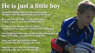 REMEMBER WHY THEY PLAY RUGBY