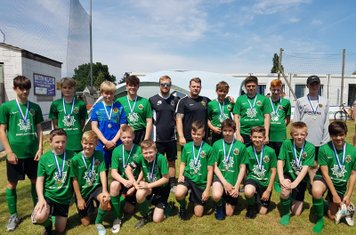 U14s Ambers - Bardon Cup. One team getting to the Semi-Finals, and one team tournament Runners Up, losing on penalties - Well done lads!!