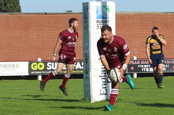 Connor Wilson Try