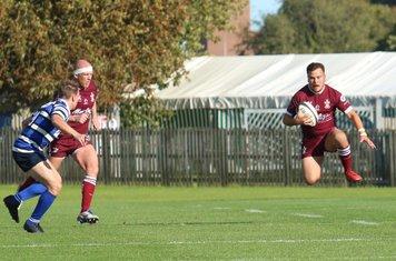 Connor Wilson leaps for joy!