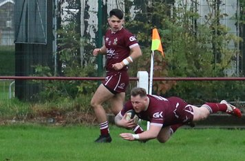Larne Patrick's 1st try on home debut
