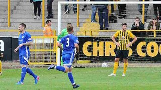 Boston United 0-2 Peterborough Sports