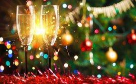 Enjoy the festivities in Pilgrim Lounge