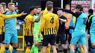 Boston United 0-2 Chorley