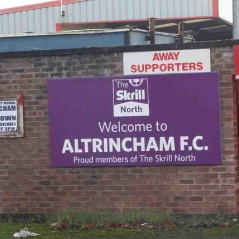 Altrincham v Leek Town 30/11/13