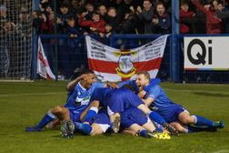 GOALDEN GRICE FIRES BLUES INTO PLAY-OFF FINAL