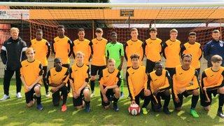 Ossett Albion Academy  2 - 1  Warrington Town Academy