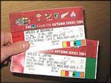 International Ticket Raffles