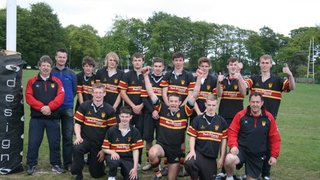 U18s Sevens Cup Runners Up