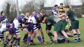 Under 14's victory at Basildon