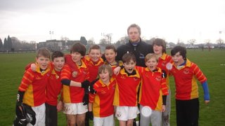 U12's at Landrover Cup, The Falcolns Ground January 2012