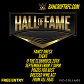 WWE fancy dress night