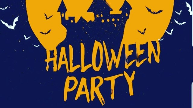Halloween party Saturday 30th October