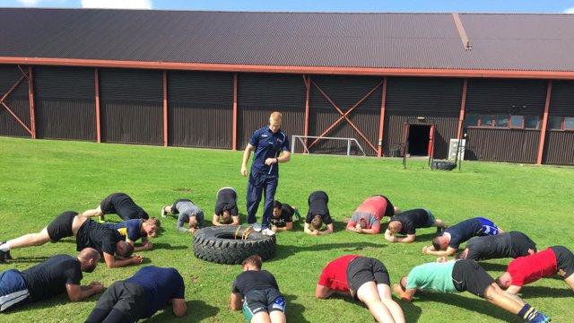 Squad Enjoys RAF Leeming Workout