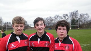 Stow U15s Boys selected for County