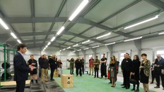 Opening of new Fitness Development Centre Feb 2016