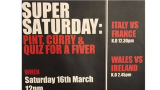 Super Saturday 16 March