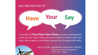 Grangemouth Community Events - club members invited to participate