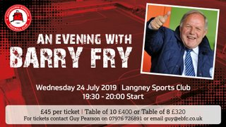 An Evening With Barry Fry