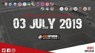 Fixture Release Countdown