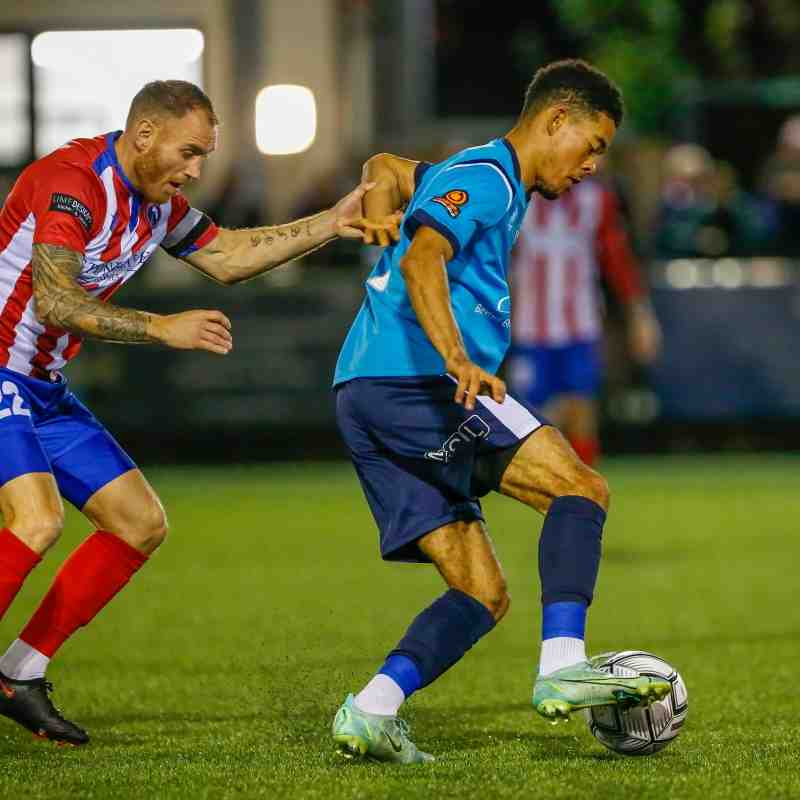 Dorking Wanderers vs EBFC - October 26th - by Lydia Redman