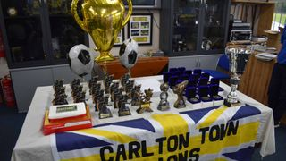 Carlton Town Lions U16 awards night (photos by Joe Weaver)