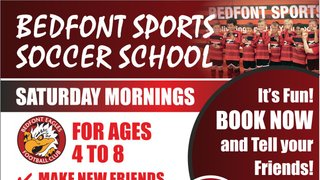 Soccer School is back at Bedfont Sports