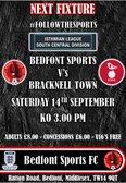 BEDFONT SPORTS VS BRACKNELL TOWN