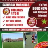 SATURDAY SOCCER SCHOOL