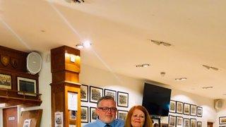Dave Miller Award Season  18/19, Martin Heys & Trish Mcgrenra