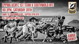 1st XV V Southwold Away, Saturday 28th September