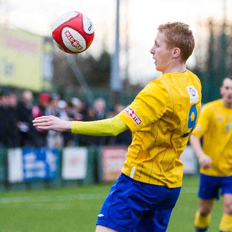Warrington Town 1 Darlington 4
