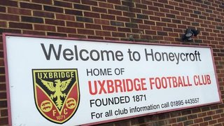 UXBRIDGE APPOINT NEW MANAGER