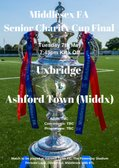 IT'S RED VERSUS TANGERINE IN THE MIDDLESEX FA SENIOR CHARITY CUP FINAL